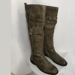MIZ MOOZ TALL RIDING EQUESTRIAN BOOT 8.5 LEATHER